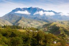 Kinabalu de la montaña Imagen de archivo libre de regalías