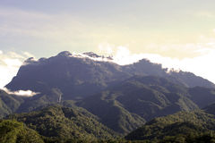 Kinabalu del supporto Fotografia Stock