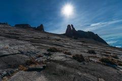 Kinabalu-Esel-Ohr-Spitze Lizenzfreies Stockbild