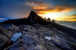 kinabalu góra zdjęcie stock