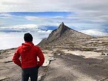 Kinabalu-Südspitze lizenzfreies stockbild