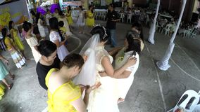 Money fund raising in wedding tradition