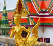 Kinare, wat phra kaew,曼谷,泰国 免版税库存照片