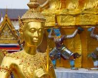 Kinare, kaew di phra del wat, Bangkok, Tailandia Fotografia Stock