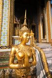 Kinaree, a mythology figure in the Grand Palace Stock Image