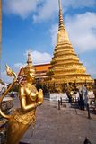 Kinaree, a mythology figure in the Grand Palace Stock Photography