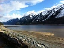 Kinbasket sjö Arkivbilder