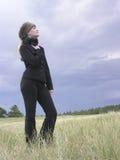 Kind 01 des Winters Lizenzfreies Stockfoto