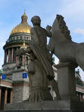Kind. On Isaakievskii a cathedral, Saint Petersburg Royalty Free Stock Photo