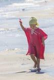 Kind aan de overzeese kant Royalty-vrije Stock Foto