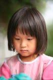 Kind & het schilderen baan Royalty-vrije Stock Foto's