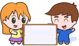 Kind-Ansage vektor abbildung
