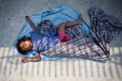 Kind in armoede Royalty-vrije Stock Afbeelding