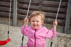 Kind auf Schwingen Stockbilder