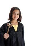 Kind auf weißem Hintergrund Stockbild