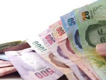 Kind of banknotes, bank bills thai baht royalty free stock photography