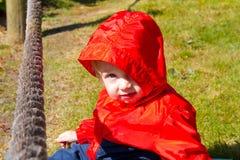 Kind bij Strand Royalty-vrije Stock Afbeeldingen