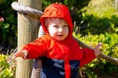 Kind bij Strand Royalty-vrije Stock Foto's