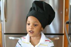 Kind-Chef lizenzfreie stockbilder