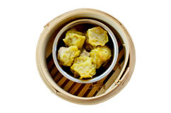 Kind of Chinese snacks steamed dumplings Royalty Free Stock Photos