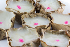 Kind of Chinese sweetmeat steamed in a basket Royalty Free Stock Photography