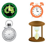 Kind of  clock Royalty Free Stock Image