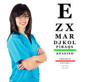 Kind Female Doctor Stock Images