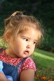 Kind, das weg schaut Lizenzfreie Stockfotos