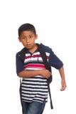 Kind, das zur Schule geht Stockfoto