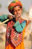 Kind dat suikerriet eet Royalty-vrije Stock Foto