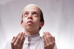 Kind in der arabischen Kleidung Stockfotos