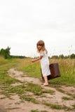 Kind in der Landschaft Lizenzfreie Stockfotografie