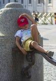 Kind der Vatikan Stockfoto