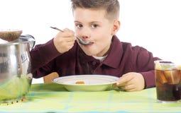 Kind die 15 eten Royalty-vrije Stock Afbeelding