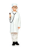Kind doctor royalty free stock image