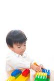 Kind en speelgoed Royalty-vrije Stock Afbeelding