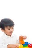 Kind en speelgoed Royalty-vrije Stock Foto's