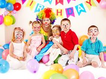 Kind-Geburtstagsfeier. Lizenzfreie Stockfotografie