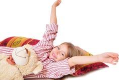 Kind gehen zu Bett gegangen Stockfotografie
