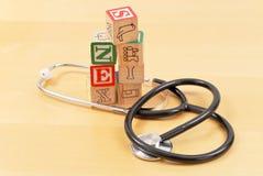 Kind-Gesundheitspflege Lizenzfreie Stockfotografie