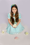 Kind girl Royalty Free Stock Photo