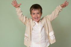 Kind glücklich Stockfotografie