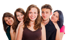 Kind Group Of Young People Stock Photo