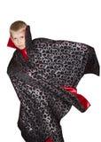 Kind in het beeld van een tovenaar Stock Foto's