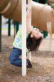 Kind het hangen Royalty-vrije Stock Foto