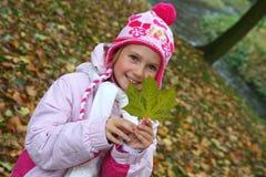 Kind in het park Stock Foto's