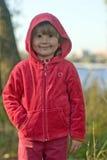 Kind in het park royalty-vrije stock afbeelding