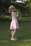 Kind in het park Royalty-vrije Stock Fotografie