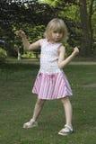 Kind in het park Royalty-vrije Stock Foto's