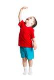 Kind het tonen groeit Royalty-vrije Stock Foto